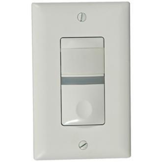 Wall Motion Sensor Light Switch: WattStopper RS-150BA-N-W Motion Sensor, Decora Style Wall Switch Vacancy  Sensor w,Lighting