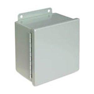 (Wiegmann B100806CH NEMA 12 JIC Box Continuous Hinge, Steel, 10