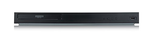 LG UBK80 Ultra HD 4K Blu-ray-speler (met HDR en Dolby Atmos) zwart