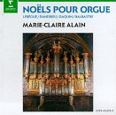 Noels Pour Orgue - Carols for Organ - Marie Claire Alain Erato