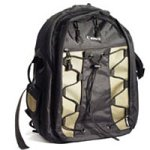 Canon Deluxe Photo Backpack 200EG for Canon EOS SLR Cameras (Black with Green Accent) (Slr Backpack Photo)