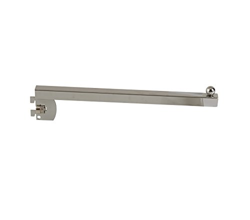 Econoco TS/12 Square Tubing Straight Arm, 12'' (Pack of 24) by Econoco