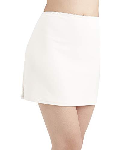 ANNY Women's Everyday Half Slips White Size M