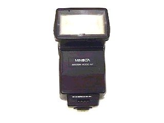 Minolta 4000AF Flash for Maxxum 5000, 7000, 9000 - Slr Minolta 7000