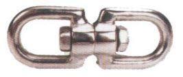 5/16 Inch Eye/Eye Swivels, 304 Stainless Steel (10/Pkg)