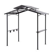 Winmark Outdoor 8L x 5W x 8H ft. Hardtop Grill Gazebo by Better Homes and Gardens.