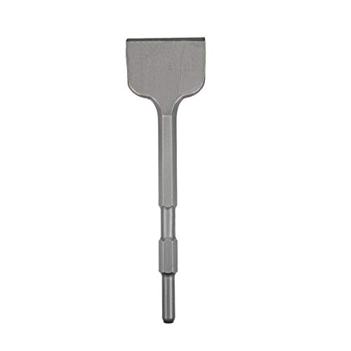 uxcell Scraping Chisel 80mm Dia. Masonry Drill Bit Hex Shank for Electric Jack Hammer Remove Scale Edging Chipping Tool