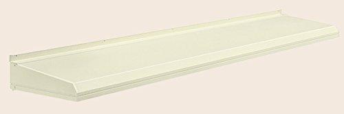 キャピア A型 ユニットひさし 呼称:17406 W:2,020mm × D:590mm 製品色:ホワイト(W) ALC用取り付けセット付 LIXIL リクシル TOSTEM トステム B0752CS5X6 ALC用取り付けセット付|ホワイト(W)