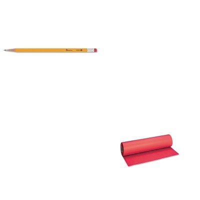 KITPAC101203UNV55400 - Value Kit - Pacon Decorol Flame Retardant Art Rolls (PAC101203) and Universal Economy Woodcase Pencil (UNV55400) by Pacon