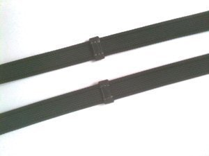 (HyCLASS Sure Grip Reins Full - black - for extra grip in any weather by William Hunter Equestrian)