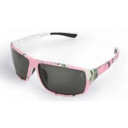 Browning Ladies Frame Huntress Pink Camo - Sunglasses Realtree Pink Camo