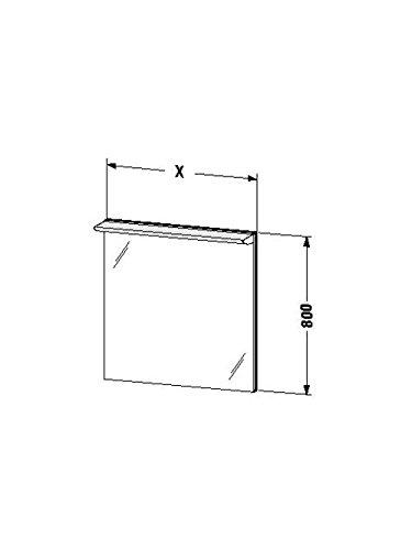Duravit Spiegel mit Beleuchtung Darling New 170x600x800mm, DN725500000