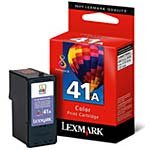 Lexmark #41A Color Ink Cartridge, 210 Yield (18Y0341)