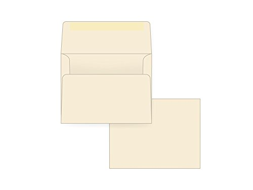A2 Invitation Envelope - 75# Baronial Ivory Classic Laid (4 3/8 x 5 3/4) - Announcement Series (Box of 250)