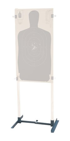G Outdoors Adjustable Metal Target Stand, Gray,