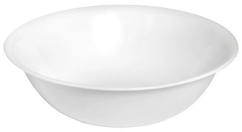 Corelle Livingware 2-Quart Serving Bowl, Winter Frost White