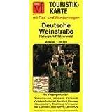 Deutsche Weinstraße, Blatt 31, Naturpark Pfälzerwald 1 : 50 000. Fietz Touristtikkarte
