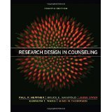 Research Design in Counseling [HARDCOVER] [2015] [By Puncky Paul Heppner]