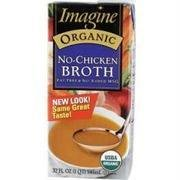 Organic Low Sodium Vegetarian No-Chicken Broth 32 Ounces (Case of 12)