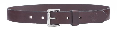 Brown Leather Toddler Belt (Size XS-S, Waist 16-20
