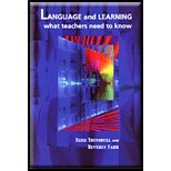 Language and Learning 9781929024803
