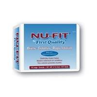 """First Quality Nu-Fit Adult Briefs, Large, 45"""" - 58"""","""