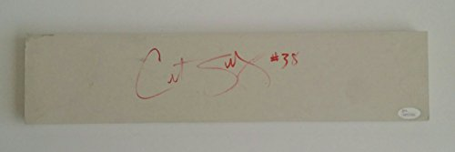 (Curt Schilling Autographed Signed Youth Size Pitching Rubber Boston Red Sox JSA)