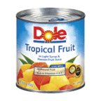 - Dole Tropical Mixed Fruit in Light Syrup and Passion Fruit Nectar 15.25oz Can (Pack of 12)