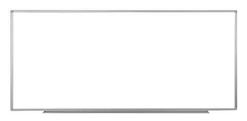 Luxor Wall Mounted Dry Erase Magnetic Whiteboard 96''W x 40''H by Luxor