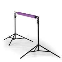 Calumet MF6090 Background Support Includes Two Aluminum Stands, One Four-Section Aluminum Crossbar And A Durable Fabric Carrying Case