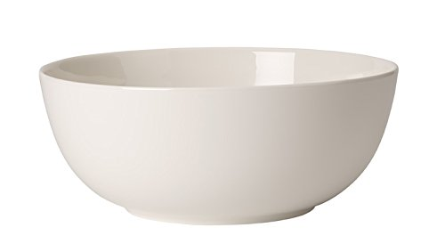 For Me Round Vegetable Bowl by Villeroy & Boch - Premium Porcelain - Made in Germany - Dishwasher and Microwave Safe - 9 Inches