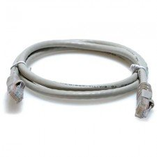 (10ft Cat6 550 MHz Crossover Patch Cable - Gray by LinkCable)