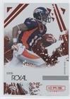 Royal Ruby Ball (Eddie Royal #136/150 (Football Card) 2009 Donruss Rookies & Stars Longevity - [Base] - Ruby #31)
