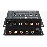 Shinybow Component 5-RCA Video + Stereo Analog Audio Booster Extender Amplifier SB-2820