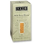 - Tazo Wild Sweet Orange - Herbal Infusion - Case of 6