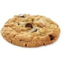 Bonzers Classic All Natural Chocolate Chip Cookie Dough, 3 Ounce -- 100 per case.