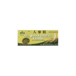 RED PANAX GINSENG EXTRACT 6 BOXES 180 BOTTLES 6000MG(30 BOTTLES IN EACH BOX) by PANAX GINSENG