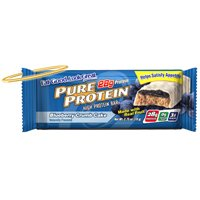 Pure Protein, High Protein Bar, Blueberry Crumb Cake, 6 Bars, 1.76 Ounces (Pack of 2)