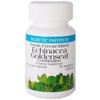 Echinacea Goldenseal, 50 Caps by Eclectic Institute Inc (Pack of 3)