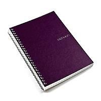 Fabriano EcoQua Notebooks spiral blank wine 5.8 in. x 8.25 in.