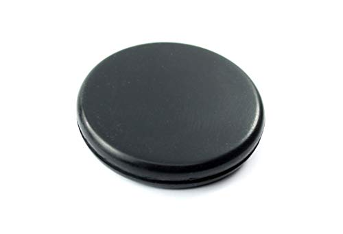 Rubber Hole Plug for 2'' Opening - for 1/16'' Thick Panel -''Grommet Without A Hole'' - Solid Flush Plug - Seals Opening in Metal Panels - Provides Finished Appearance on Both Sides of Panel (24) by Generic (Image #8)