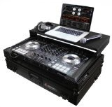 Odyssey FZGSPIDDJSXBL Black Label Flight Zone Pioneer DDJ-SX/S1/T1 DJ Controller (Controller Flight Case)