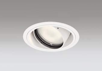 ODELIC LED高彩色ユニバーサルダウンライト CDM-T70W相当 オフホワイト 45° 埋込穴Φ125mm 電球色 3000K M形 一般型 専用調光器対応 XD402299H (電源調光器信号線別売) B07PNLT7PT