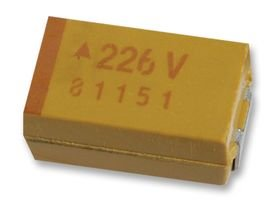 AVX TPSB105K035R2000 Surface Mount Tantalum Capacitor 1 /µF 35 V 1210 3225 Metric TPS Series /± 10/% 55 /°C New Lot Quantity-50