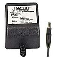 AC to AC Wall Adapter Transformer 9 Volt @ 1500mA Black Straight 2.5mm Female Plug