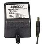 Jameco Reliapro ADU090150A2231 AC to AC Wall Adapter Transformer 9V @ 1500 mA Straight 2.5 mm Female Plug, Black