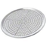 Browne (575352) 12'' Perforated Aluminum Pizza Tray
