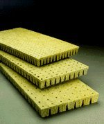 Plugs Stonewool Starter (Grodan Rockwool Cubes (2 X 2 X 1.5 Inches) 50 Per Sheet)