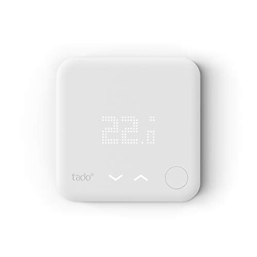 tado° – Termostato inteligente por cable, accesorio para controlar varias habitaciones, control inteligente de…