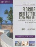 Florida Real Estate Exam Manual for Sales Associates and Brokers, Linda L. Crawford, 141958877X